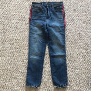 abercrombie and Fitch ankle denim